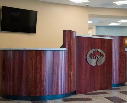 custom bank desk