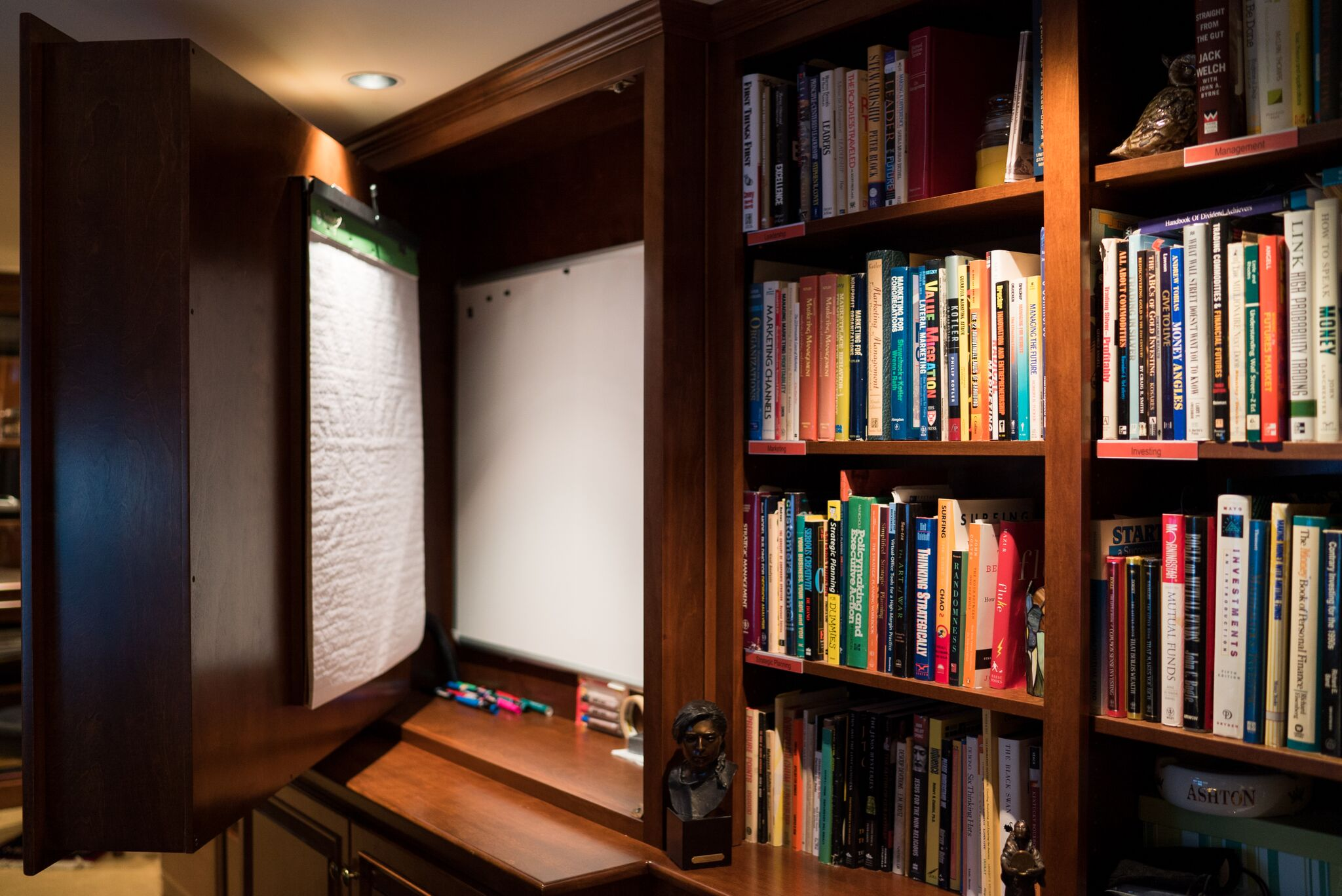 ... Cabinet For Home Office Cabinetry Hidden Whiteboard In Custom Cabinetry  ...