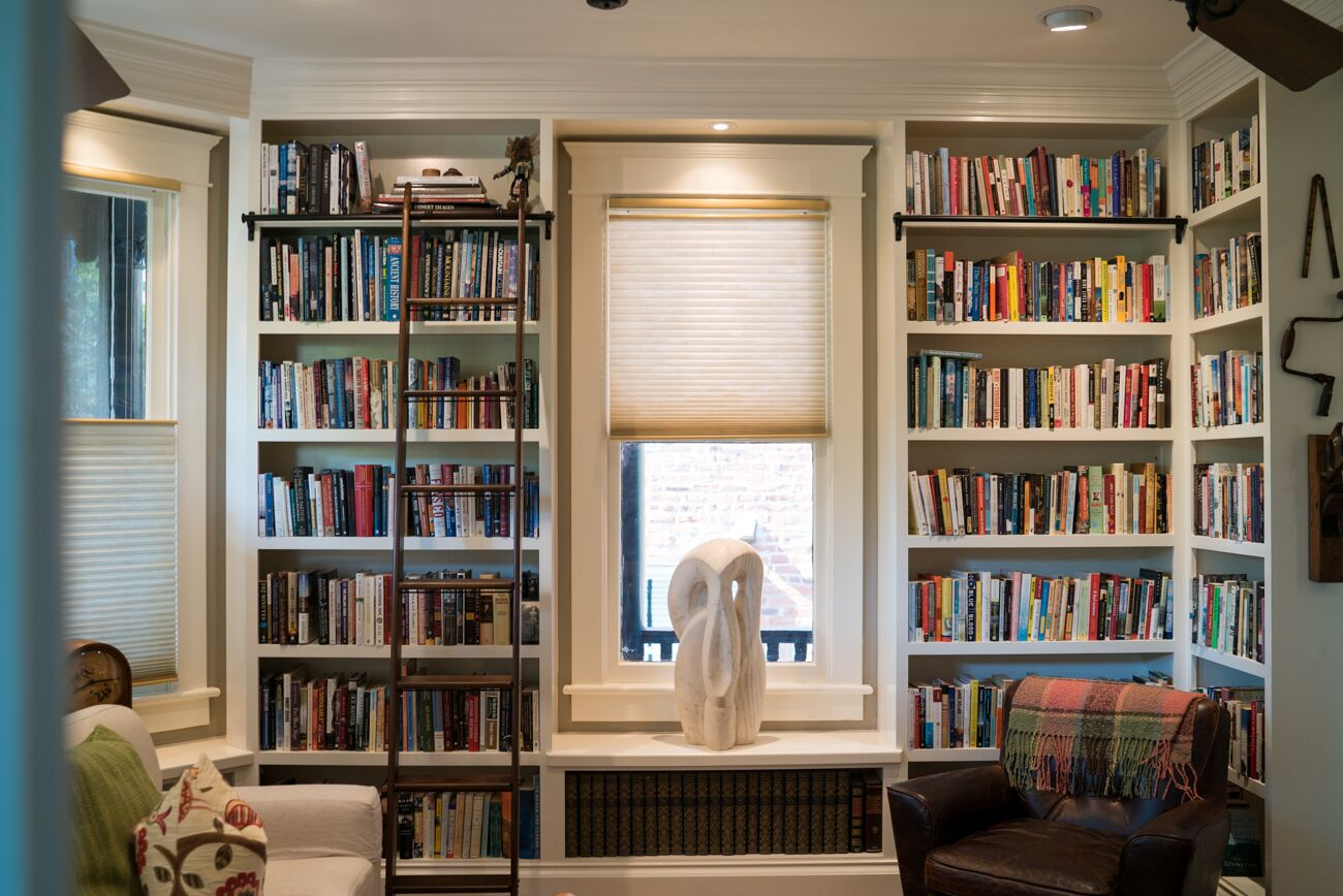 custom bookshelves and bookcases