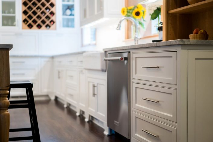 functional storage made attractive in kitchen remodel